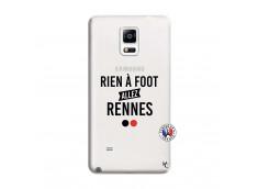 Coque Samsung Galaxy Note 4 Rien A Foot Allez Rennes