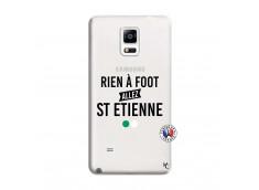 Coque Samsung Galaxy Note 4 Rien A Foot Allez St Etienne