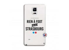Coque Samsung Galaxy Note 4 Rien A Foot Allez Strasbourg