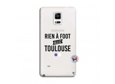 Coque Samsung Galaxy Note 4 Rien A Foot Allez Toulouse