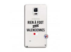 Coque Samsung Galaxy Note 4 Rien A Foot Allez Valenciennes