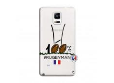 Coque Samsung Galaxy Note 4 100 % Rugbyman Entre les Poteaux