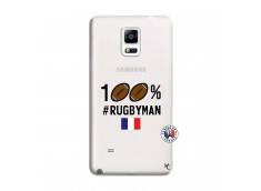 Coque Samsung Galaxy Note 4 100% Rugbyman