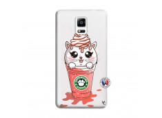Coque Samsung Galaxy Note 4 Catpucino Ice Cream