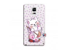 Coque Samsung Galaxy Note 4 Smoothie Cat