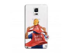 Coque Samsung Galaxy Note 4 Super Papa et Super Bébé