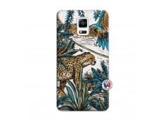 Coque Samsung Galaxy Note 4 Leopard Jungle