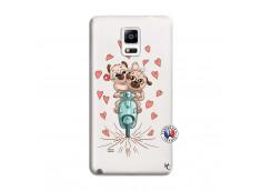 Coque Samsung Galaxy Note 4 Puppies Love