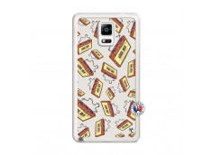 Coque Samsung Galaxy Note 4 Vintage Tape Translu