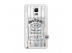 Coque Samsung Galaxy Note 4 White Old Jack Translu