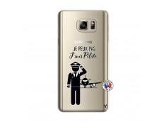 Coque Samsung Galaxy Note 5 Je peux pas j'suis pilote