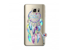 Coque Samsung Galaxy Note 5 Blue Painted Dreamcatcher
