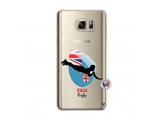 Coque Samsung Galaxy Note 5 Coupe du Monde Rugby Fidji