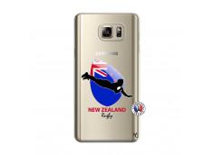 Coque Samsung Galaxy Note 5 Coupe du Monde Rugby- Nouvelle Zélande