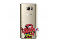 Coque Samsung Galaxy Note 5 Dead Gilet Jaune Impact