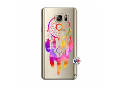 Coque Samsung Galaxy Note 5 Dreamcatcher Rainbow Feathers