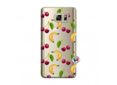 Coque Samsung Galaxy Note 5 Hey Cherry, j'ai la Banane