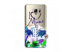 Coque Samsung Galaxy Note 5 I Love Miami