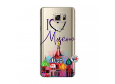 Coque Samsung Galaxy Note 5 I Love Moscow