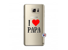 Coque Samsung Galaxy Note 5 I Love Papa