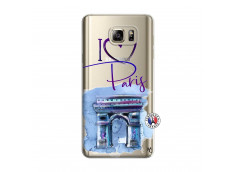 Coque Samsung Galaxy Note 5 I Love Paris Arc Triomphe