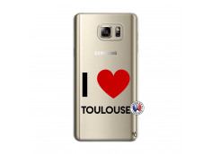 Coque Samsung Galaxy Note 5 I Love Toulouse