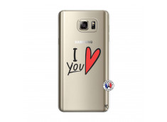 Coque Samsung Galaxy Note 5 I Love You
