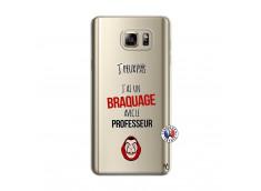 Coque Samsung Galaxy Note 5 J Peux Pas J Ai Un Braquage Avec Le Professeur