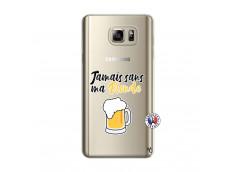 Coque Samsung Galaxy Note 5 Jamais Sans Ma Blonde
