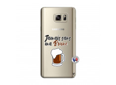 Coque Samsung Galaxy Note 5 Jamais Sans Ma Brune