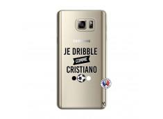 Coque Samsung Galaxy Note 5 Je Dribble Comme Cristiano