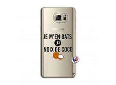 Coque Samsung Galaxy Note 5 Je m'en bats Les Noix De Coco