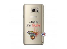 Coque Samsung Galaxy Note 5 Je Peux Pas J Ai Basket