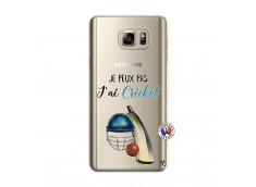 Coque Samsung Galaxy Note 5 Je peux pas j'ai cricket