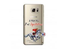 Coque Samsung Galaxy Note 5 Je Peux Pas J Ai Equitation