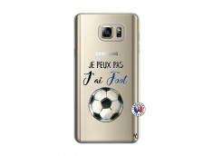 Coque Samsung Galaxy Note 5 Je peux pas j'ai Foot