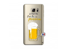 Coque Samsung Galaxy Note 5 Je peux pas J'ai la Pression