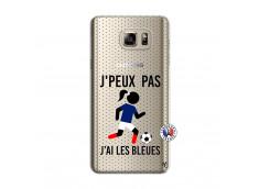 Coque Samsung Galaxy Note 5 Je Peux Pas J Ai Les Bleues Maillot