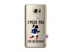 Coque Samsung Galaxy Note 5 Je Peux Pas J Ai Les Bleues