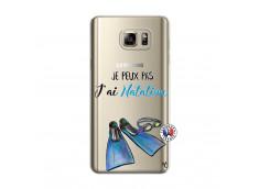 Coque Samsung Galaxy Note 5 Je Peux Pas J Ai Natation