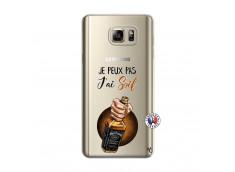 Coque Samsung Galaxy Note 5 Je Peux Pas J Ai Soif