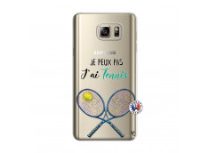 Coque Samsung Galaxy Note 5 Je Peux Pas J Ai Tennis