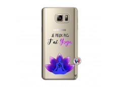 Coque Samsung Galaxy Note 5 Je Peux Pas J Ai Yoga
