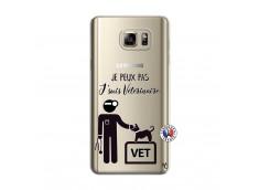 Coque Samsung Galaxy Note 5 Je Peux Pas Je Suis Veterinaire