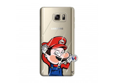 Coque Samsung Galaxy Note 5 Mario Impact