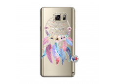 Coque Samsung Galaxy Note 5 Multicolor Watercolor Floral Dreamcatcher