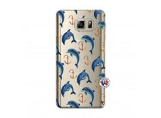 Coque Samsung Galaxy Note 5 Dauphins