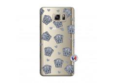 Coque Samsung Galaxy Note 5 Petits Elephants
