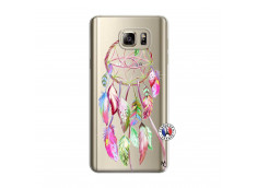Coque Samsung Galaxy Note 5 Pink Painted Dreamcatcher