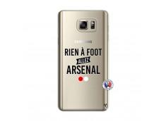 Coque Samsung Galaxy Note 5 Rien A Foot Allez Arsenal